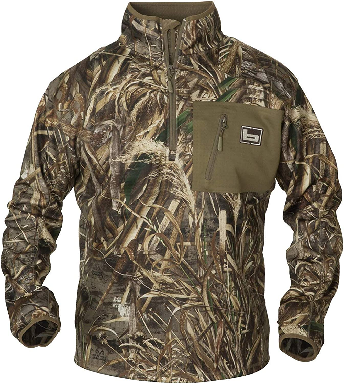Banded 1/4 Zip Mid Layer Fleece