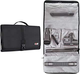 BUBM Tool Storage Bag Compatible with Dyson Vacuum Attachment (V6, V7 and DC62), Black