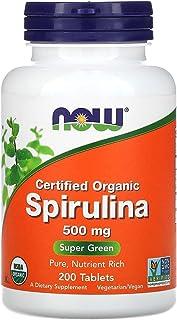 NOW Foods NOW Foods Organic Spirulina 500mg Tabs. 200's