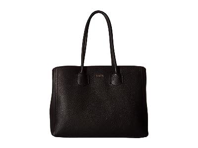 Furla Alba Large Tote (Onyx) Tote Handbags