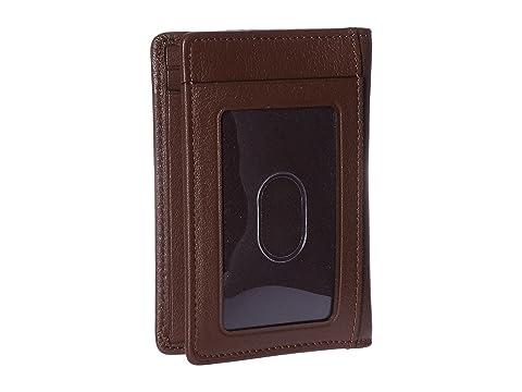 con ventanas marrón para Estuche múltiples textura tarjetas con Tumi Nassau xqfEw1T