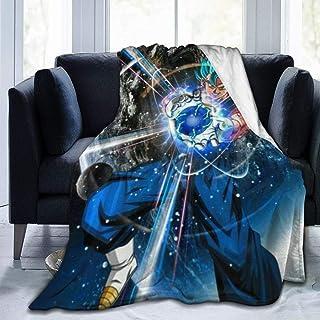 "AISINER Anime Soft Cozy Blanket Fleece Blanket Couch Blanket Reversible Bed Throw Tv Blanket Comfort Caring Gift 80"""" X60"