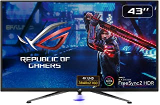 ROG Strix XG438Q HDR Large Gaming Monitor — 43-inch, 4K (3840 x 2160), 120 Hz, Freesync
