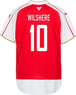 PUMA Wilshere #10 Arsenal Home Soccer Youth Jersey 2015/2016