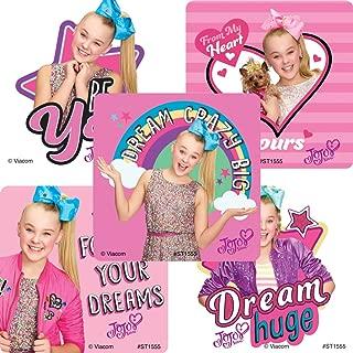SmileMakers JoJo Siwa Dream Big Stickers - Prizes 100 Per Pack