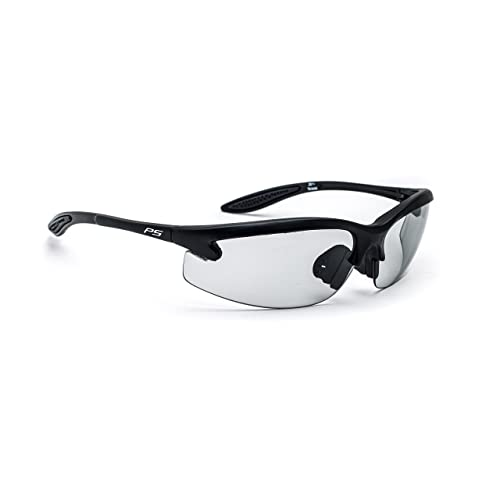 e78ac0d1284d8 Safety Glasses with Transitions Lenses in Pewter Wraparound Frame