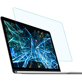 FORITO Anti Blue Light Anti Glare Screen Protector Compatible with MacBook Air 13 A1932 A2179 with Retina Display and Touch ID, 2-Pack Eye Protection Blue Light Blocking for 2020 2019 2018 MacBook Air 13 Inch