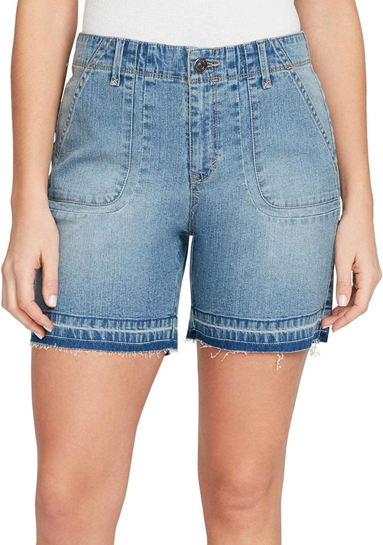Gloria Vanderbilt Women's Karol Release Hem Shorts