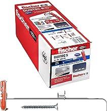 Fischer 25 stuks DUOTEC 10 S gipsplaatpluggen met schroeven, ankerbevestiging voor hoge lasten op platen en platen, boring...