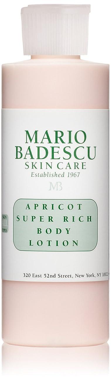 猟犬組つかまえるマリオ バデスク Apricot Super Rich Body Lotion - For All Skin Types 177ml/6oz