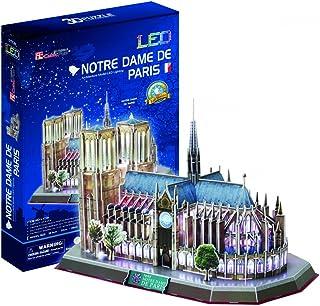 Cubic Fun Notre Dame de Paris Cathedral 3D Puzzle - 149 Pieces