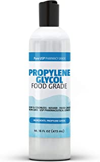 PURE Propylene Glycol (8 oz.), 100% Pure, Food & Pharmaceutical Grade, Hypoallergenic Moisturizer and Skin Cleanser