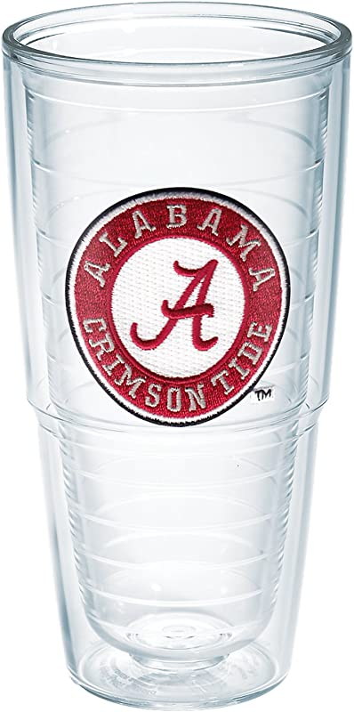 Tervis 1007219 Alabama University Emblem Individual Tumbler 24 Oz Clear