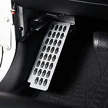 Hooke Road Dead Pedal Left Side Foot Rest Kick Panel for 2007-2018 Jeep Wrangler JK & Unlimited