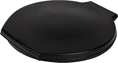 Reliance Products 9881-03 Luggable Loo Snap-on Toilet Seat with Lid for 5-gallon Bucket, black, 13.0 Inch x 1.5 Inch x 14....