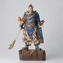Feng Shui Decor Guan Yun Chang Statue 2021 Home Shop Entrance Hall Geomantic omen Statue God of Wealth Luck Patron Saint G...