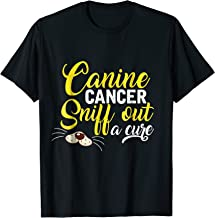 Canine Cancer Sniff Out a Cure T-shirt