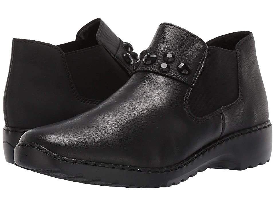 Rieker L6080 Doro 80 (Black/Black) Women