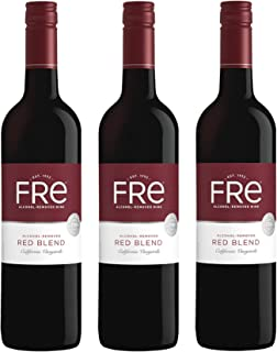 Sutter Home FRE RED BLEND, California Vineyards, Alcohol Free - 750ml | Pack of 3