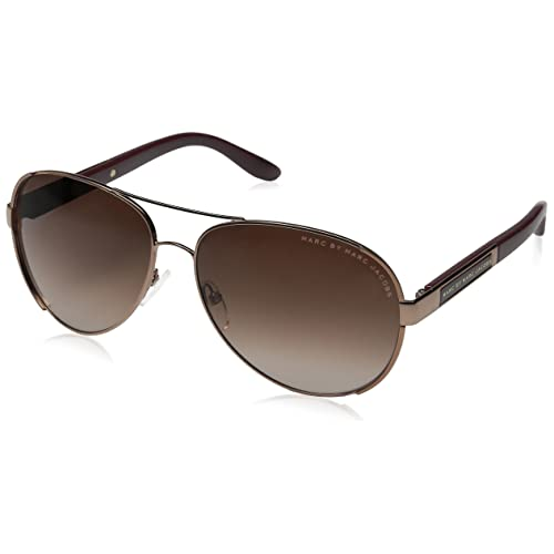 adee35bb700 Marc by Marc Jacobs Women s MMJ378S Aviator Sunglasses