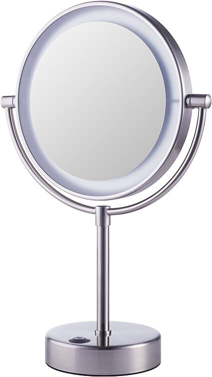 Ikea Kaitum Specchio Ingranditore Illuminato Con Luci Per Bagno E Trucco Amazon It Casa E Cucina