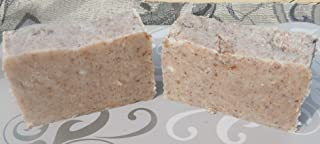 Dragon's Blood Soap with Frankincense and Myrrh Resin Two Bars Lard and Lye Bar Soap For Ritual Cleansing or Prayer