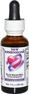 Kroeger Herb Co, New Dimensions, Black Walnut Hull Extra Strength, 1 fl oz (30 ml) - 3PC