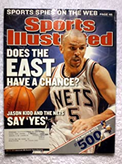 Jason Kidd - New Jersey Nets - NBA Playoffs - Sports Illustrated - May 19, 2003 - Rafael Palmeiro hits his 500th Home Run - SI