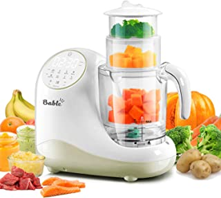 Baby Food Maker for Infants and Toddlers, Bable All in 1 Food Processor Mills Machine with Steam, Blend, Chop, Reheater, Grinder and Auto Cleaning, Touch Control Panel, Auto Shut-Off