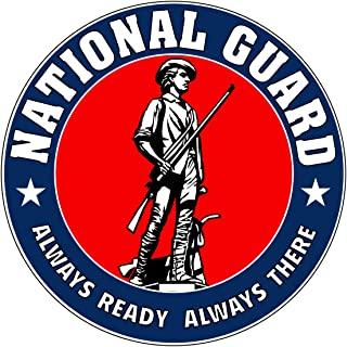 National Guard Seal Logo Military Vinyl Decal Sticker for Cars Trucks Laptops etc.5