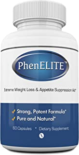 PhenELITE Weight Loss & Appetite Suppressant: Belly Fat Burner & Diet Supplement Pill with Apple Cider Vinegar, Raspberry ...