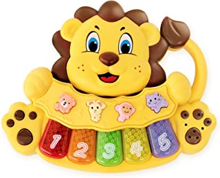 S&C Adorable Lion Baby Piano Toy - 5 Different Numbe