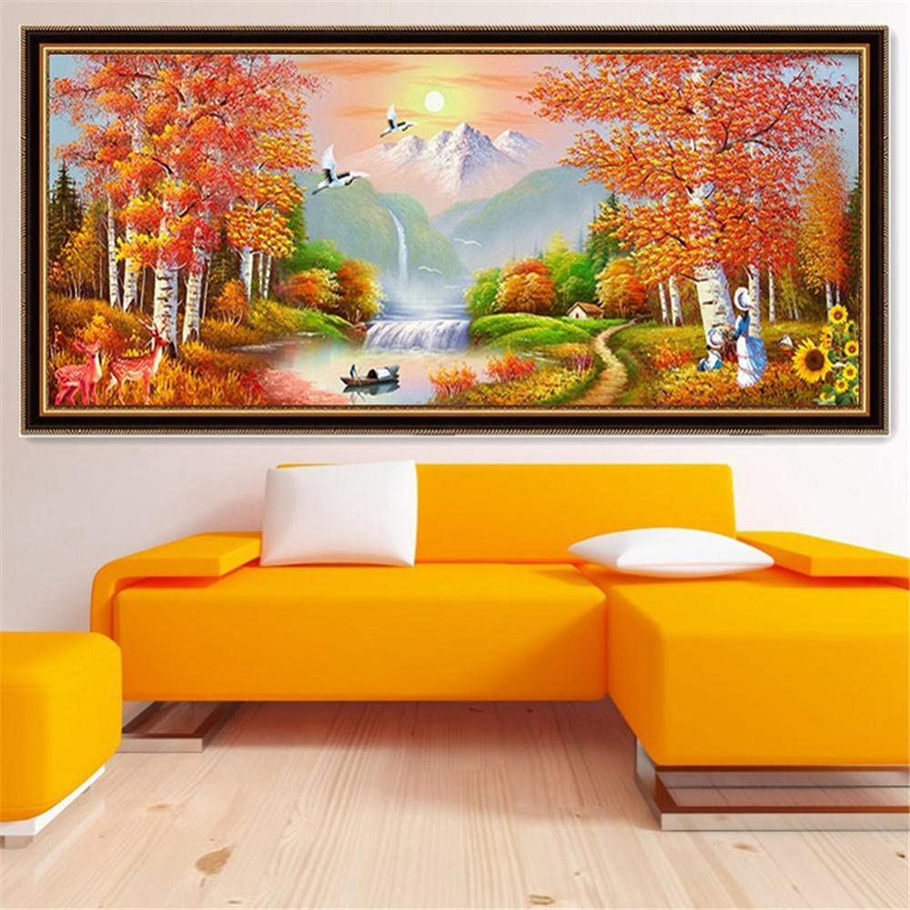 Bnaioy DIY 5D Diamond Painting by Crystal Cash special price Rhinestone Number Kits High quality new