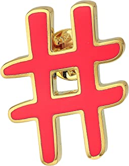 Marc Jacobs - Hashtag Enamel Pin