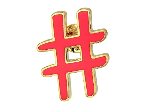 Marc Jacobs Hashtag Enamel Pin