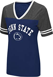 Women's NCAA Varsity Jersey V-Neck T-Shirt