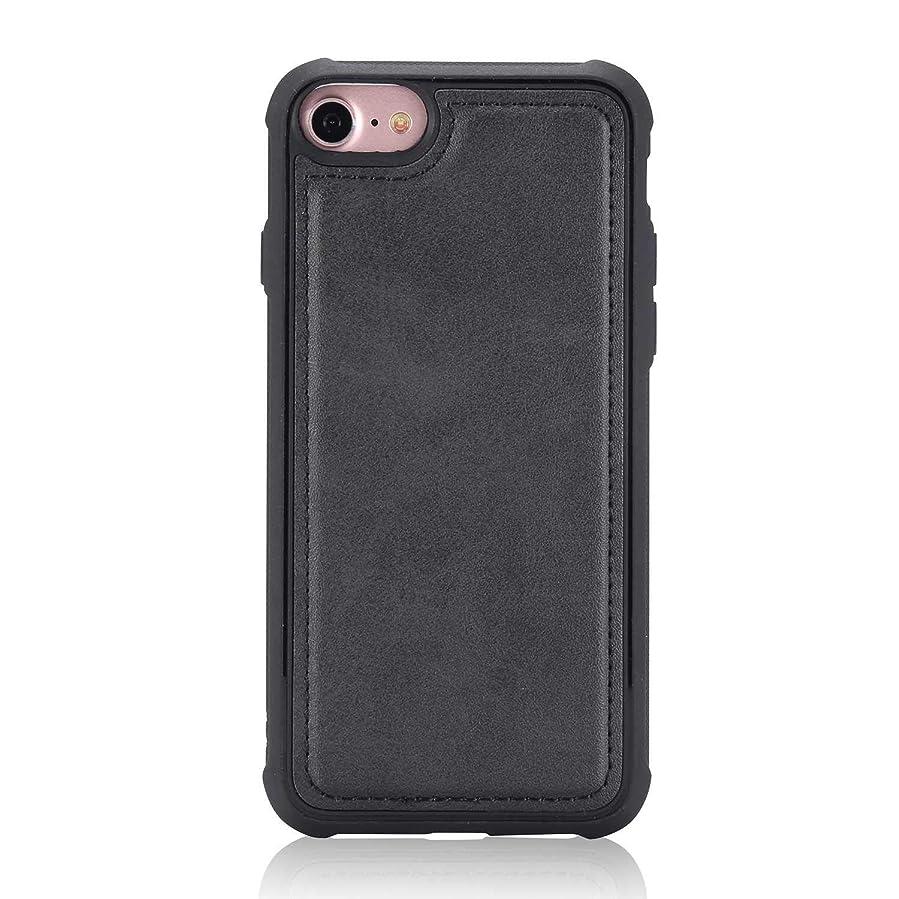 パワー最近同化iPhone 6 / iPhone 6s ケース, CUNUS Apple iPhone 6 / iPhone 6s ケース TPU シリコン スリム 薄型 耐摩擦 耐衝撃 スマホケース, 新品 高級 ケース, ブラック