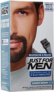 Just For Men Brush-In Color Mustache & Beard - Darkest Brown