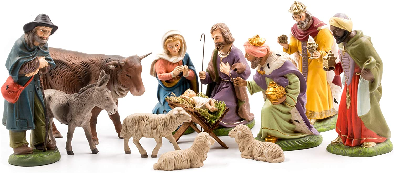 MAROLIN Nativity Set 12 pcs 新商品 4.75 to in. Figures WEB限定