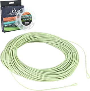 M MAXIMUMCATCH Maxcatch ECO Floating Fly Line Weight Forward Design with Welded Loop (3F,4F,5F,6F,7F,8F)…