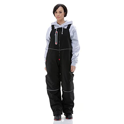 3536ca3b4f4 RefrigiWear Women s Water-Resistant Insulated Softshell Bib Overalls