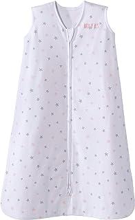 Halo Sleepsack Cotton Wearable Blanket, Pink Stars, X-Large