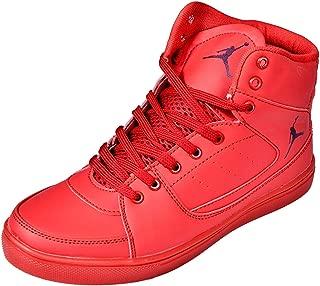 Ashoka Boys Red Casual Shoe