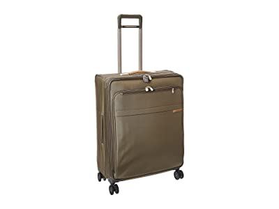 Briggs & Riley Baseline Large Expandable Spinner (Olive) Luggage