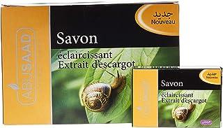 ABUSAAD Savon Eclaircissant Aux Extraits D'Escargot Soap - Set Of 12 Pieces