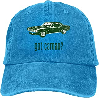 Denim Cap 1969 Chevrolet Camaro SS Baseball Dad Cap Classic Adjustable Sports for Men Women Hat