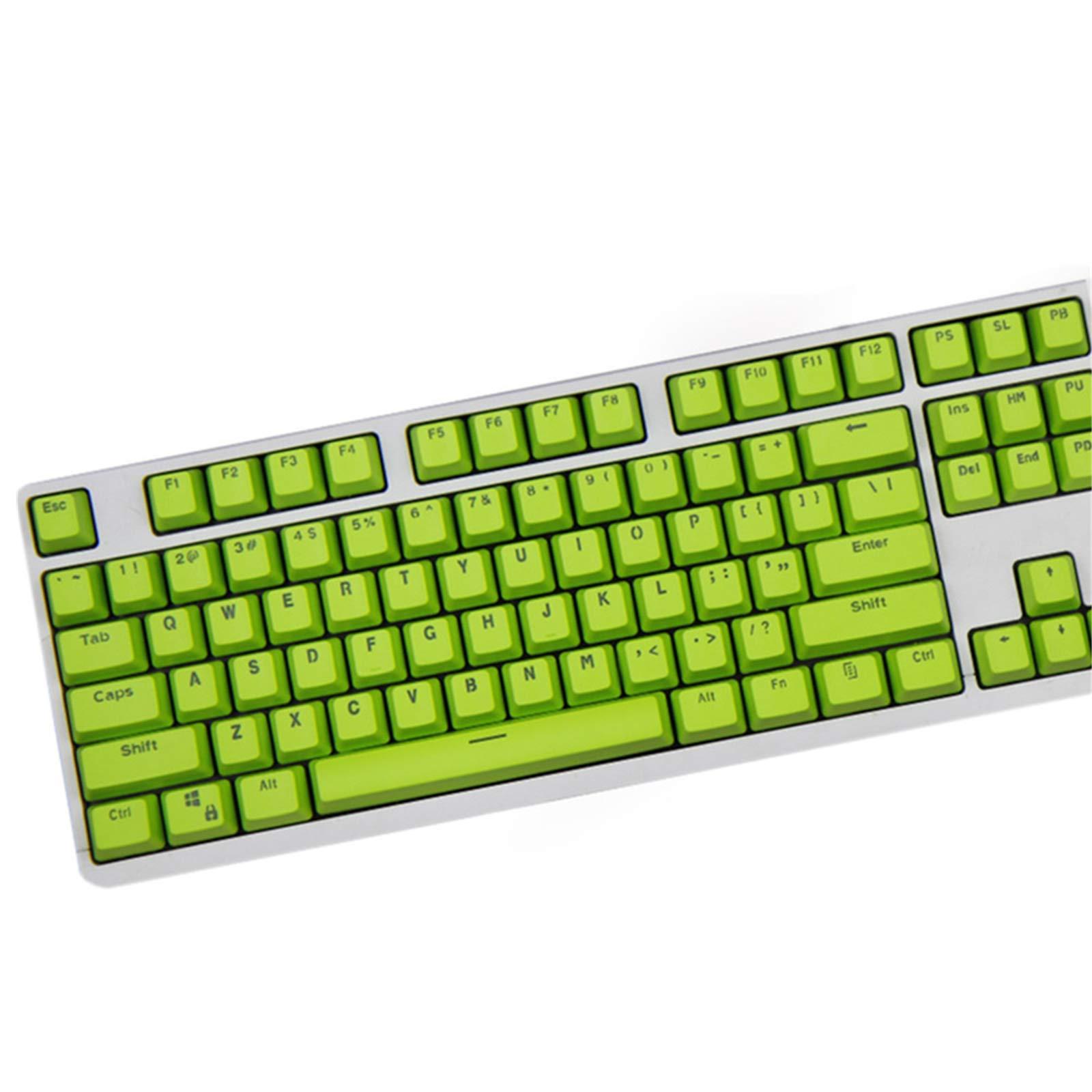 KEEZSHOP Keycaps, 104 PBT Keys Keycaps Teclado Mecánico ...