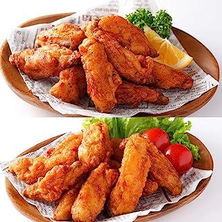 [スターゼン] 骨のあるやつら(チキンスティック1kg+ チキンスティック(スパイシー)1kg) 合計2㎏ 冷凍食品 鶏肉 チキン 電子レンジ調理