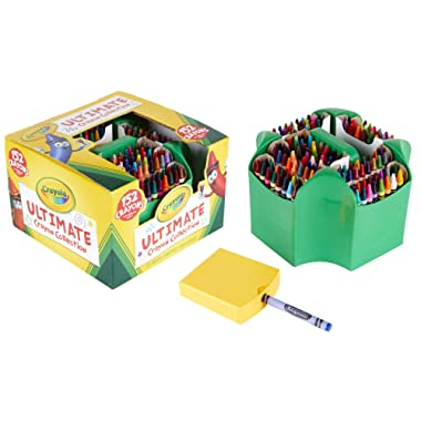 Crayola Ultimate Crayon Collection Coloring Set, Kids Indoor Activities At Home, Gift Age 3+ - 152 Count, Standard, Model Number: 52-0030, Multicolor