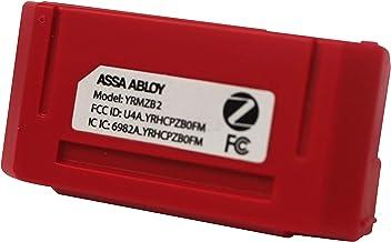 Módulo de Comunicação Zigbee T2 para Fechaduras Yale (YRD 256 e YRD 226, sem e com trinco rolete), compatível com Alexa